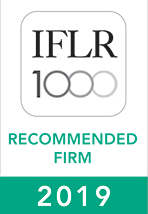 IFLR1000 2019 Recognised Firm