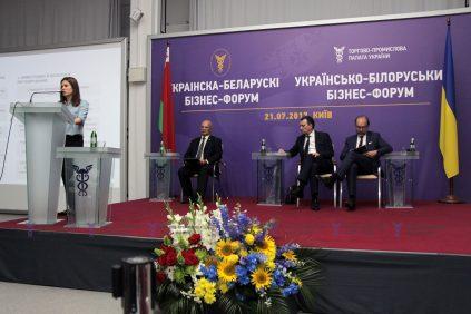 Татьяна Громовая представила инвестиционные преимущества ведения бизнеса в Украине для белорусских предпринимателей