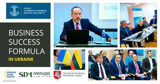 Business Success Formula in Ukraine