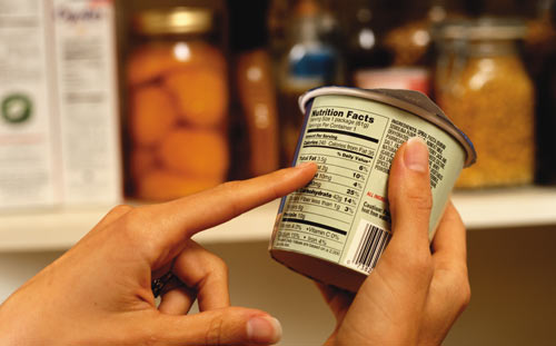 The Parliament determined the information to be indicated on the food product label