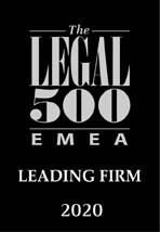 Legal 500 EMEA Leading Firm
