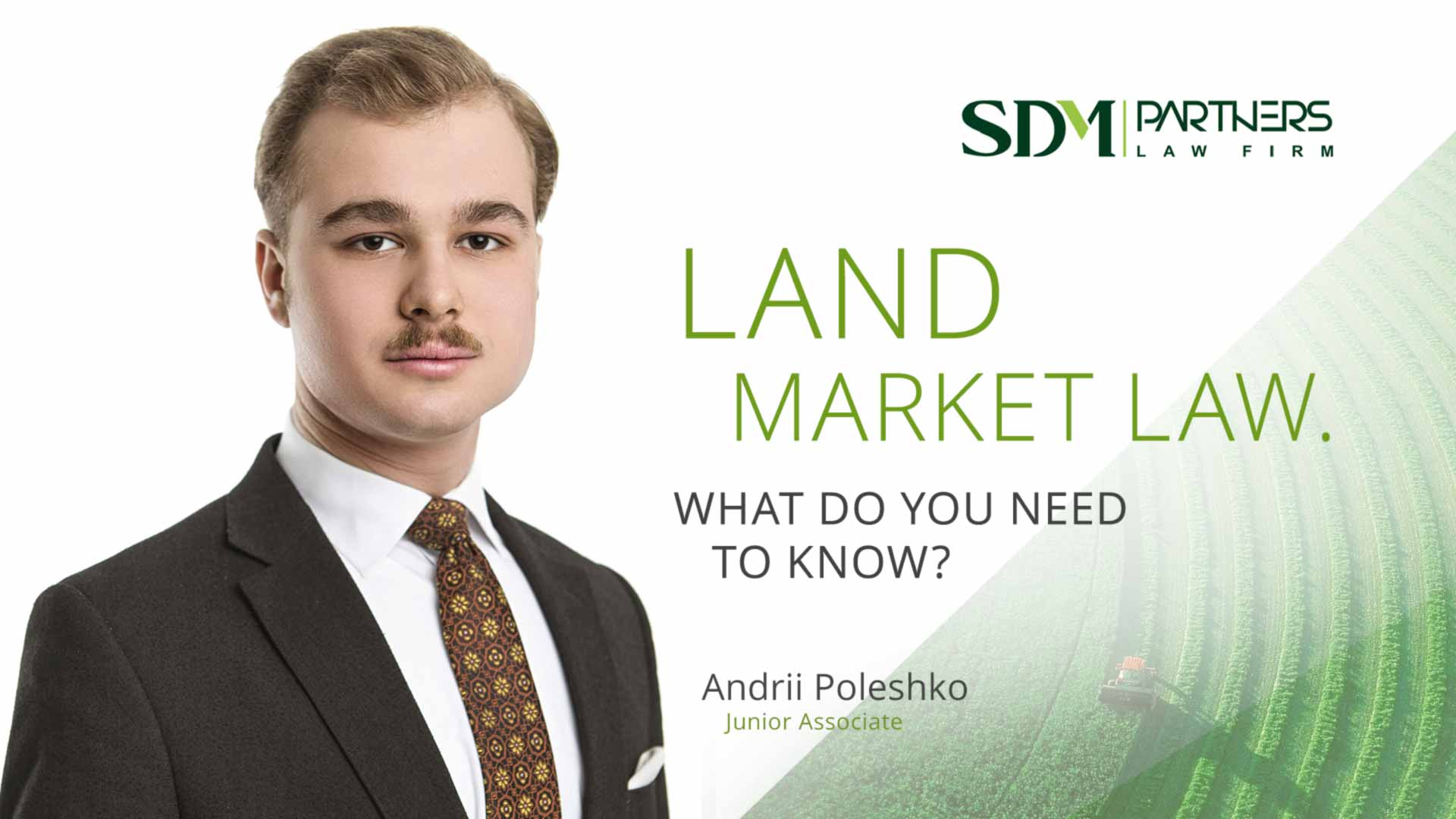 Land Market Law. What do you need to know?